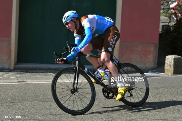 Dorian Godon of France and Team AG2R La Mondiale / during the 110th MilanoSanremo 2019 a 291km race from Milano to Sanremo / @Milano_Sanremo / on...