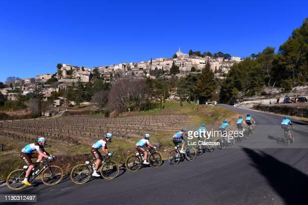 Dorian Godon of France and Team AG2R La Mondiale / Tony Gallopin of France and Team AG2R La Mondiale / Samuel Dumoulin of France and Team AG2R La...