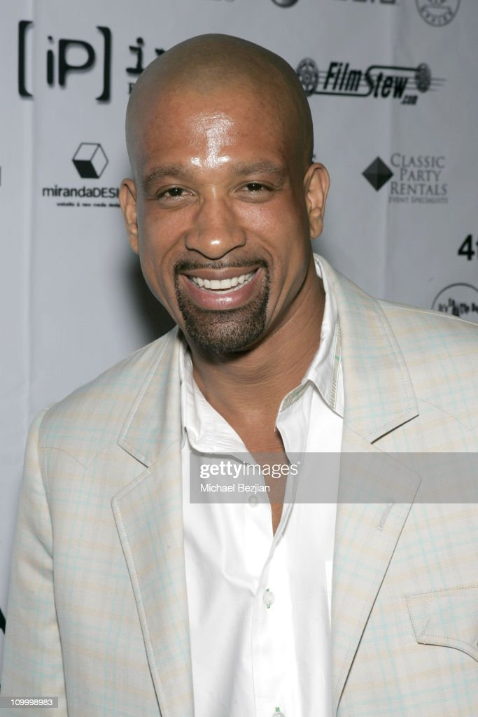 Dorian Gregory during 4th Annual Indie Producers Awards Gala - After Party in Los Angeles, California, United States.