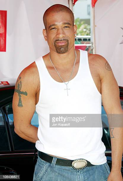 Dorian Gregory during Virgin Mobile House of Paygoism Summer BBQ Tour at Sunset Blvd. In West Hollywood, California, United States.