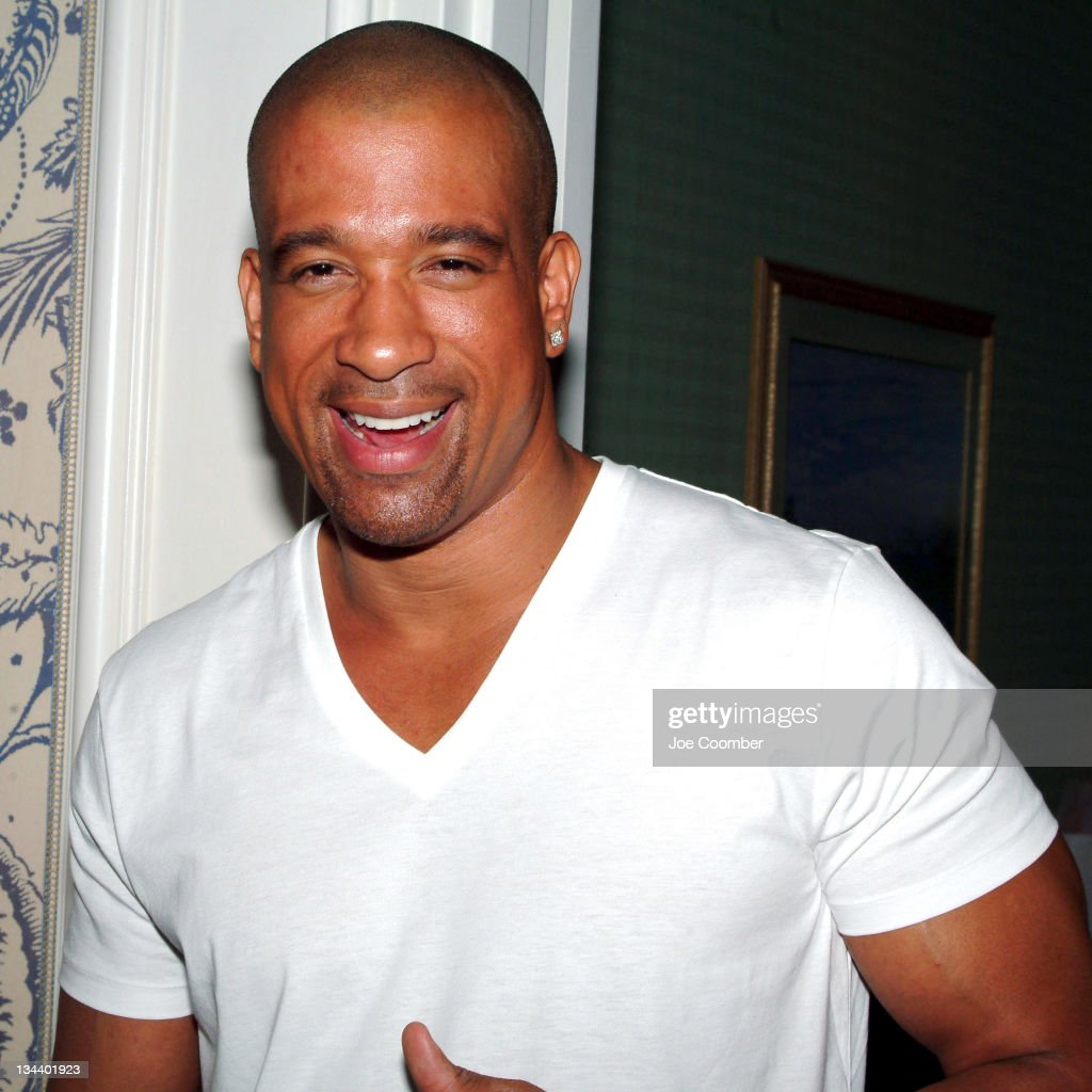 Dorian Gregory of 'Soul Train' at the 'Pamper Me Pink' party