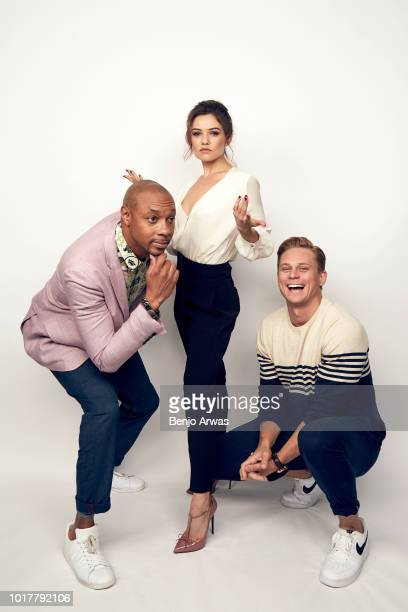 Dorian Missick Danielle Campbell and Billy Magnussen of CBS's 'Tell Me A Story' pose for a portrait during the 2018 Summer Television Critics...