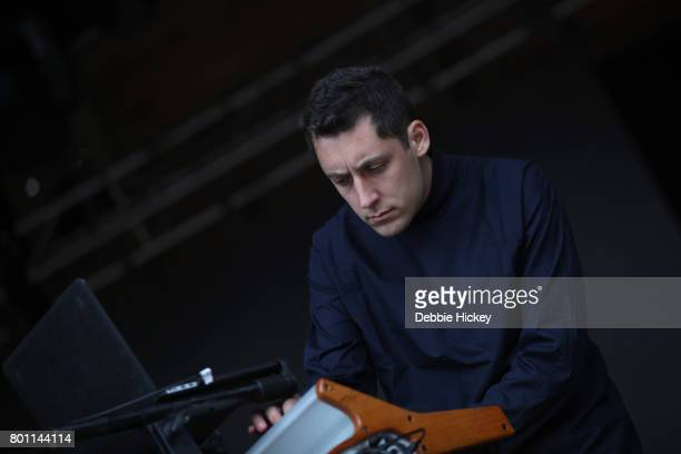 Dorian Wolf of Canadian band Austra performs at Body Soul Festival at Ballinlough Castle on June 25 2017 in Co Westmeath Ireland