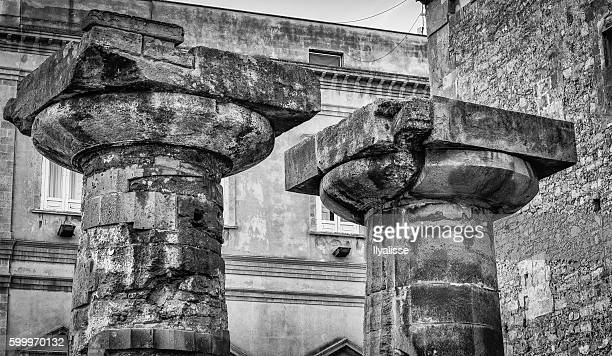 Doric columnns, Taranto, Italy