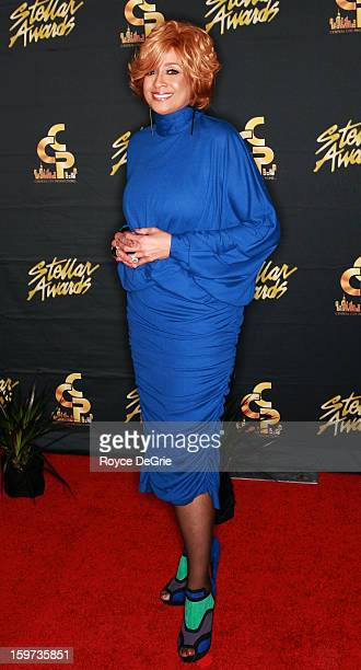 Dorinda Clark Cole arrives to the 28th Annual Stellar Awards at Grand Ole Opry House on January 19 2013 in Nashville Tennessee