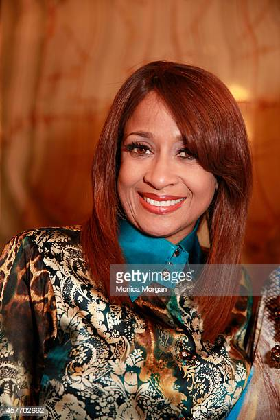Dorinda Clark Cole attends the opening night of Motown The Musical at The Fisher Theatre on October 22 2014 in Detroit Michigan