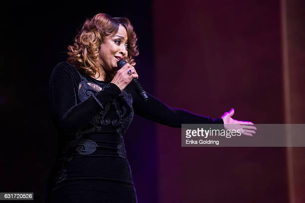 Dorinda Clark Cole performs at Rialto Center for the Arts on January 14 2017 in Atlanta Georgia