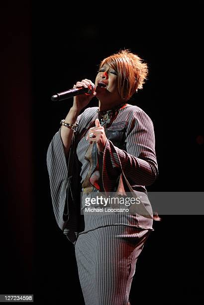 Dorinda Clark Cole performs at Verizon's How Sweet the Sound at Scottrade Center on September 26 2011 in St Louis MO