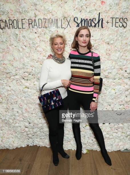 Dorinda Medley and daughter Hannah Lynch attend the launch of Smash Tess X Carole Radziwill collaboration at Crosby Street Hotel on January 14 2020...