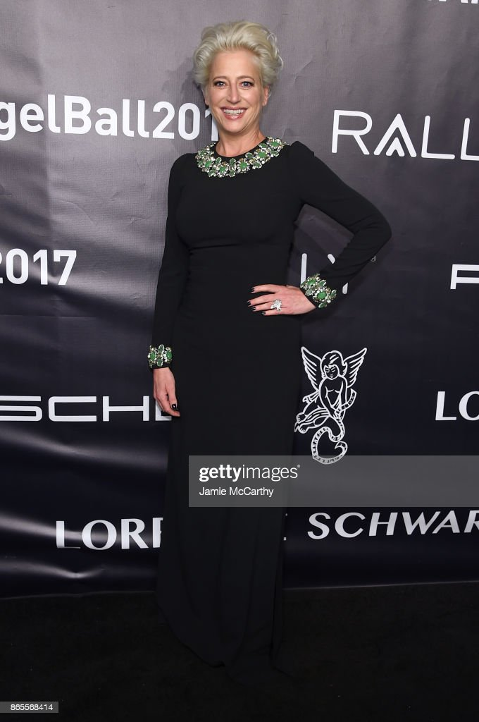 Dorinda Medley arrives at Gabrielle's Angel Foundation's Angel Ball 2017 at Cipriani Wall Street on October 23, 2017 in New York City.