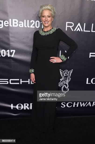 Dorinda Medley arrives at Gabrielle's Angel Foundation's Angel Ball 2017 at Cipriani Wall Street on October 23 2017 in New York City