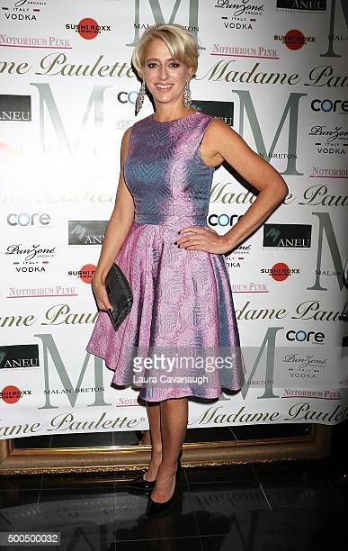 Dorinda Medley attends Malan Breton Couture Collection Unveiling Hosted By Dorinda Medley at Madame Paulette on December 8 2015 in New York City