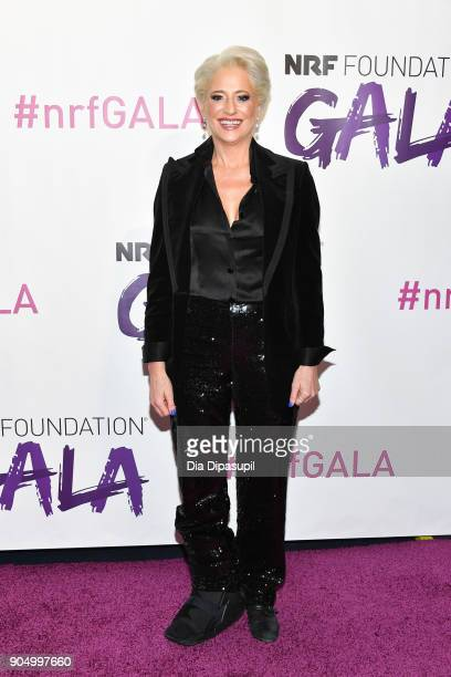Dorinda Medley attends the 2018 National Retail Federation Gala at Pier 60 on January 14 2018 in New York City