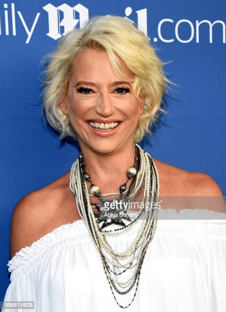 Dorinda Medley attends the DailyMailcom DailyMailTV Summer Party at Tom Tom on July 11 2018 in West Hollywood California