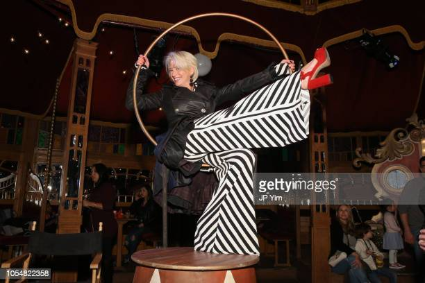 Dorinda Medley attends the opening night of the Big Apple Circus at Lincoln Center on October 28, 2018 in New York City.