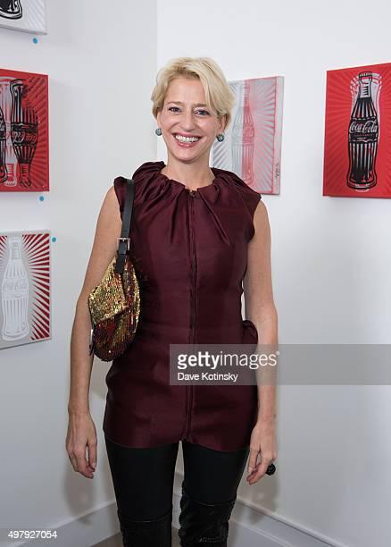 Dorinda Medley attends the Sheila Rosenblum Resident Magazine Cover Party at Soho Contemporary Art Gallery on November 19 2015 in New York City