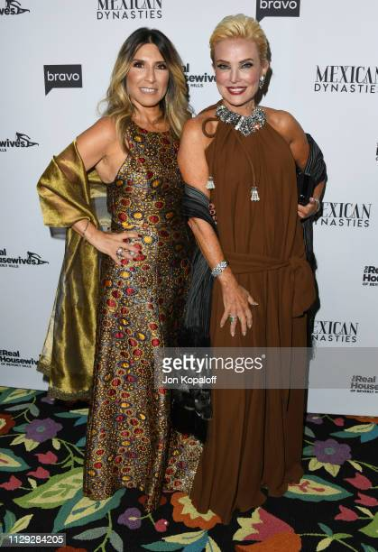 Doris Bessudo and Raquel Bessudo attend Bravo's Premiere Party For The Real Housewives Of Beverly Hills Season 9 And Mexican Dynastiesat Gracias...