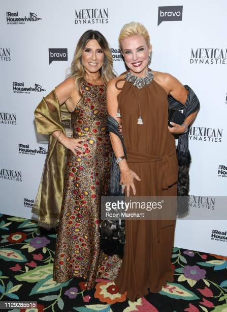 Doris Bessudo and Raquel Bessudo attend Bravo's Premiere Party for The Real Housewives of Beverly Hills Season 9 and Mexican Dynasties at Gracias...