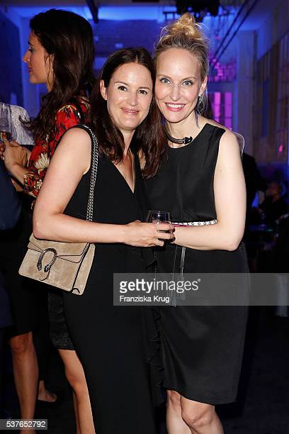 Doris Brueckner and Anne Meyer-Minnemann during the 'Return to Love' By GALA and Tiffany & Co on June 02, 2016 in Berlin, Germany.