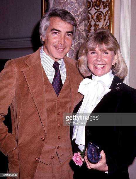 Doris Day and husband Barry Comden at the Pierre Hotel at the Pierre Hotel in New York City New York