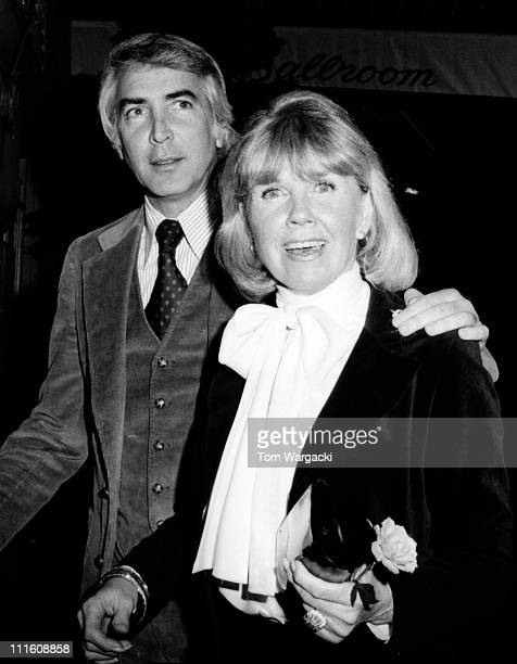 Doris Day and husband Barry Comden at the Pierre Hotel