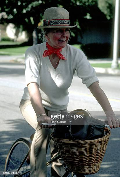 Doris Day during Doris Day and Husband Barry Comden File Photos at Beverly Hills Hotel in Beverly Hills California United States