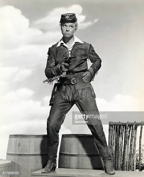 Doris Day in the movie Calamity Jane directed by David Butler