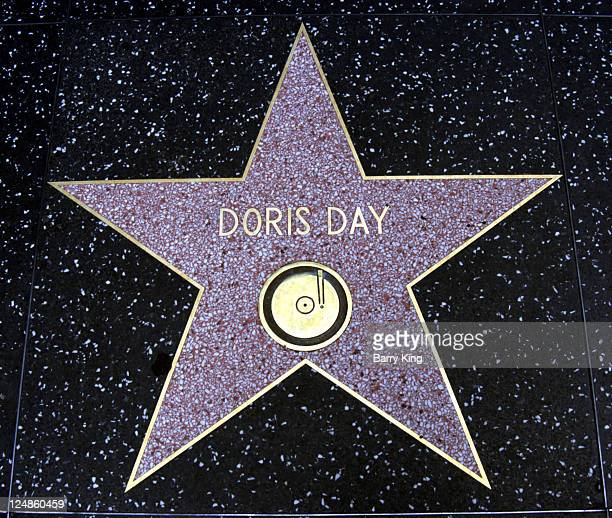 Doris Day Star on the Hollywood Walk of Fame
