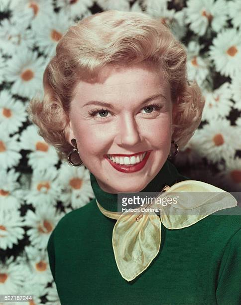 Doris Day with Daises
