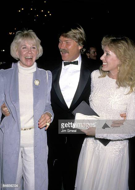 Doris Day with son Terry Melcher and his wife