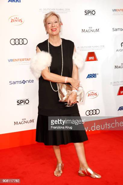 Doris Doerrie attends the German Film Ball 2018 at Hotel Bayerischer Hof on January 20 2018 in Munich Germany