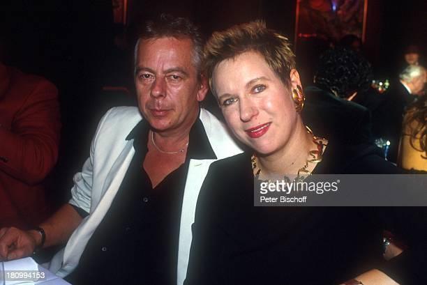 Doris Dörrie und Ehemann Helge Weindler Deutscher Filmball 1992 München Bayern Deutschland Europa Hotel Bayerischer Hofdah