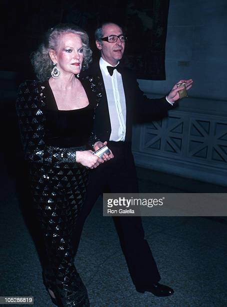 Doris Duke and Franco Rossolini during The 18th Century Woman Costume Exhibition at Metropolitian Museum of Art in New York City New York United...