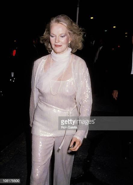 Doris Duke during Martha Graham Award given to Halston at Studio 54 in New York City NY United States