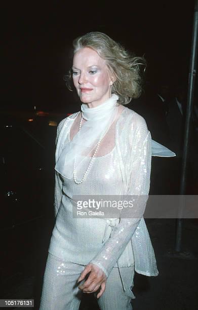 Doris Duke during Martha Graham Award to Halston at Studio 54 in New York City NY United States