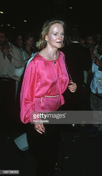 Doris Duke during Martha Graham Benefit at Studio 54 June 22 1978 at Studio 54 in New York City New York United States