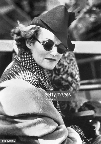 Doris Duke US tobacco heiress and philanthropist