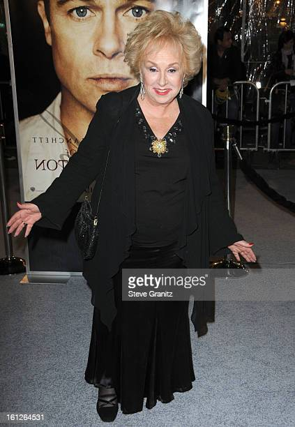 Doris Roberts arrives at the Los Angeles premiere of The Curious Case Of Benjamin Button at the Mann's Village Theater on December 8 2008 in Los...