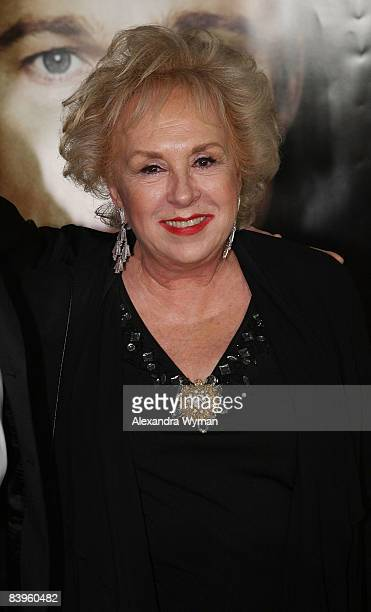 Doris Roberts attends Belstaff's The Curious Case Of Benjamin Button Premiere After Party on December 8 2008 in Los Angeles California