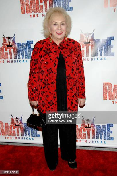 Doris Roberts attends Opening Night of RAGTIME The Musical at Neil Simon Theatre on November 15 2009 in New York City
