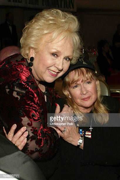 Doris Roberts Diane Ladd during The 12th Annual Night of 100 Stars Oscar Gala at Beverly Hills Hotel in Beverly Hills California United States