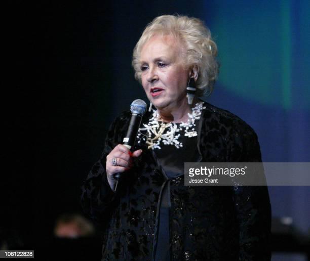 Doris Roberts during 51st Annual Thalians Ball - Show at Hyatt Regency Century Plaza in Century City, California, United States.