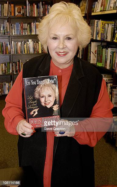 Doris Roberts during Doris Roberts Booksigning of Are You Hungry Dear Life Laughs and Lasagna at Barnes and Noble at The Grove in Los Angeles...