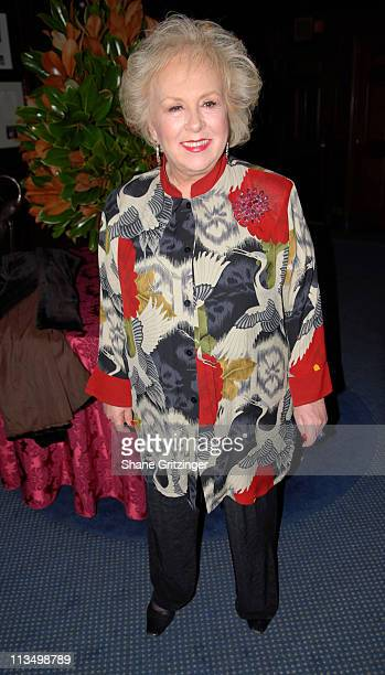 Doris Roberts during The Duke Of Edinburgh's Award Young American's Challenge Fund Raiser Dinner November 20 2006 at The Union League Club in New...