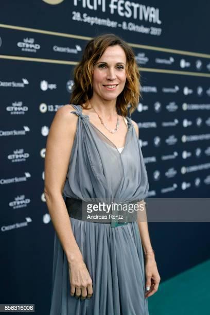 Doris Schretzmayer attends the 'Die Migrantigen' photocall during the 13th Zurich Film Festival on October 1 2017 in Zurich Switzerland The Zurich...