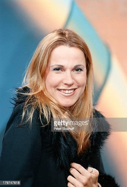 Doris Schretzmayer Porträt ModeratorinSAT1 Jahrespressekonferenz in Berlin Deutschland Europa