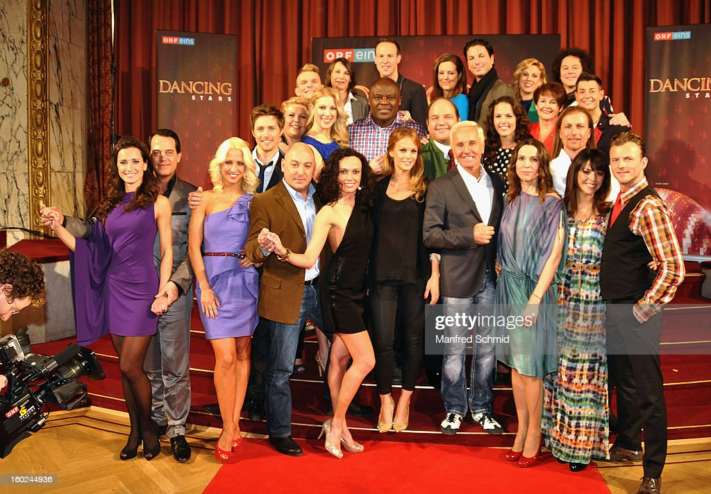 'ORF Dancing Stars 2013' Press Conference : News Photo