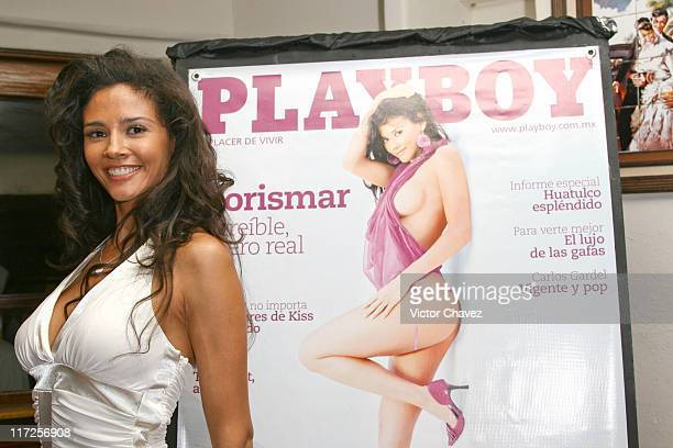Dorismar during Mexican Playboy June Issue 2007 with Dorismar Photocall at La Vid Argentina in Mexico Mexico City Mexico