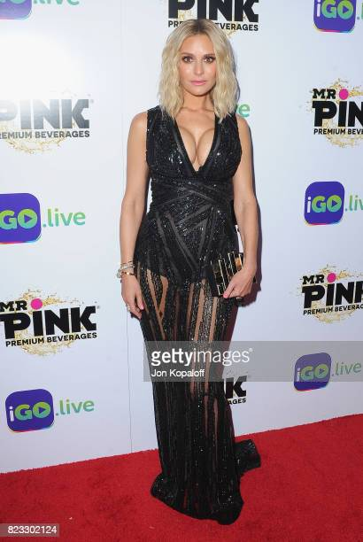 Dorit Kemsley arrives at iGolive Launch Event at the Beverly Wilshire Four Seasons Hotel on July 26 2017 in Beverly Hills California