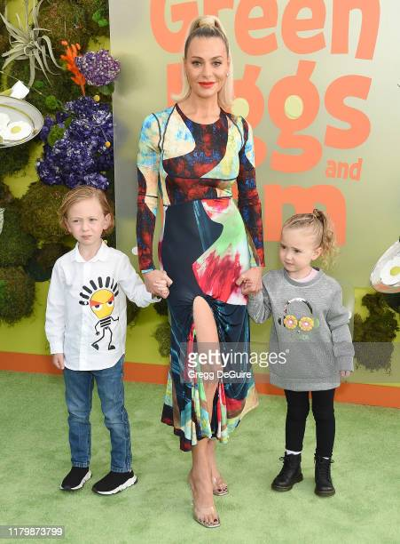 Dorit Kemsley arrives at the Premiere Of Netflix's Green Eggs And Ham at Hollywood American Legion on November 3 2019 in Los Angeles California